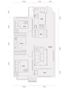 亿博棠樾府户型图