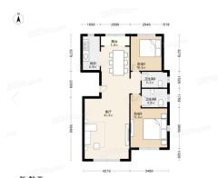 莱茵翠景2室2厅2卫115m²豪华装修