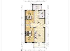 (杨村)团结西里2室2厅1卫106.16m²简单装修
