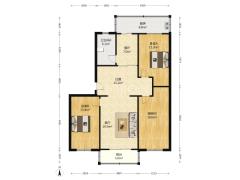 (杨村)福苑小区3室2厅1卫145.61m²中档装修