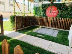 北辰区金侨瑞公馆洋房一层自带30平花园105万