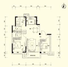 (南蔡村)碧桂园·云河上院3室2厅2卫84万120m²出售